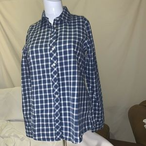Shirt Banana Republic Women's Checked Button Down